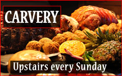 Carvery Upstairs Every Sunday