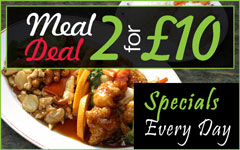 Specials and meal deals every day