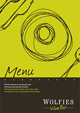Download our menu